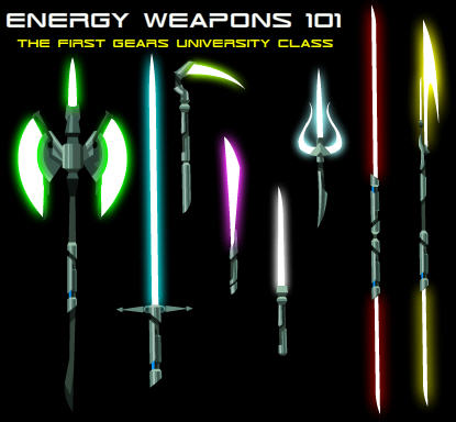 Energy Weapons 101
